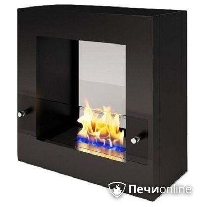 Биокамин ЭкоЛайф Cube Glass black, burgundy